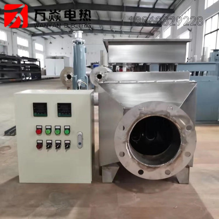 电热风炉 循环热风加热 烘干橡胶粒子 机械烘干设备