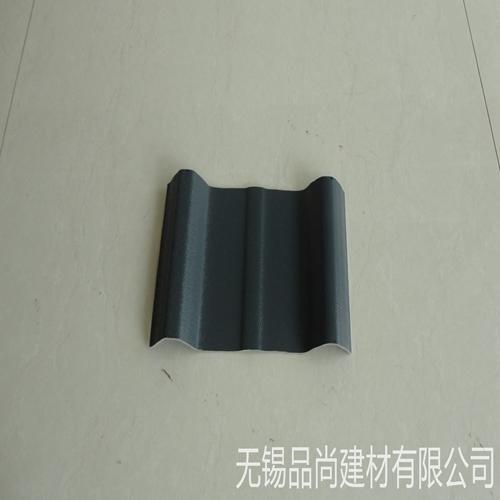 批量供应塑钢瓦 pvc瓦配件 pvc波浪塑钢瓦 品尚建材厂房屋面瓦片