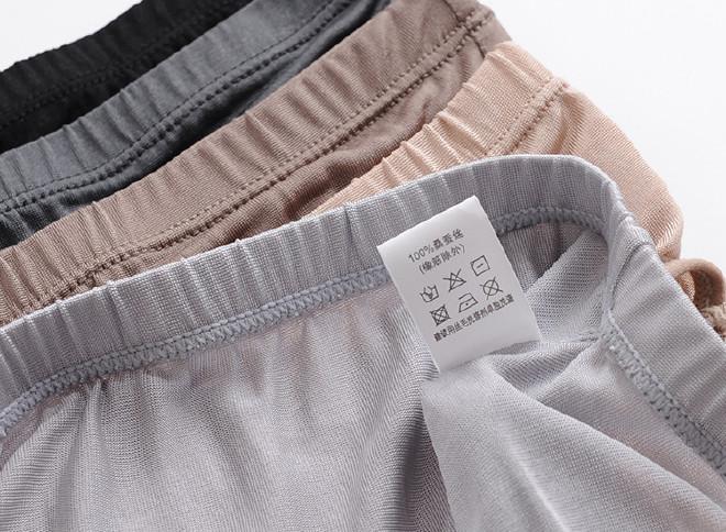 【2014夏季真丝面料中低腰男性感三角裤内裤性感舞播诺诺主女热图片