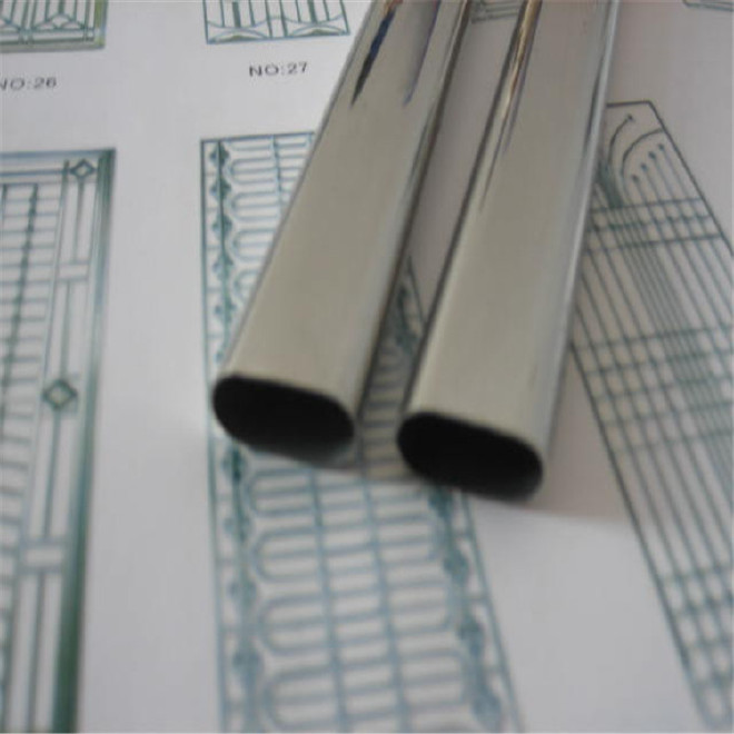 厂家加工定制304不锈钢椭圆管、3060、平椭管、椭圆管规格齐全