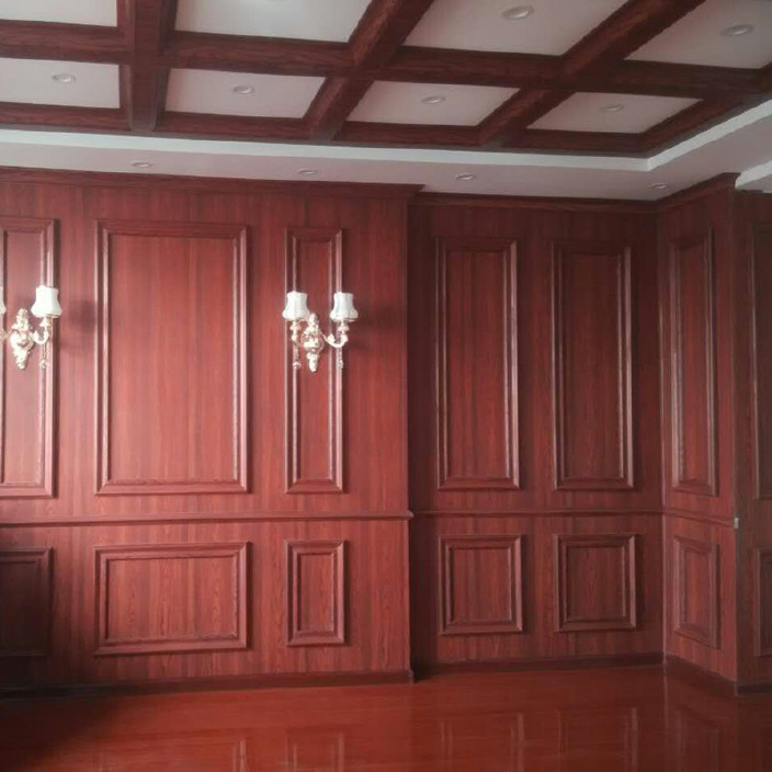 厂家直销3d欧式白色护墙板环保集成墙面全屋整装竹木纤维墙饰墙裙