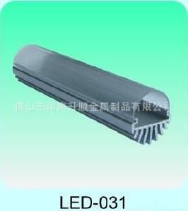 供應LED燈管鋁型材 燈管配件 燈管模具開發 機加工成品圖片