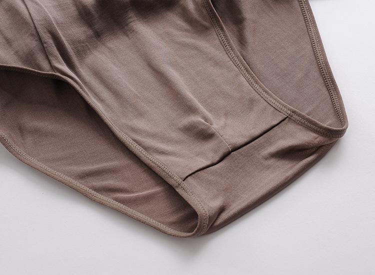 【2014夏季真丝面料中常开男内裤三角裤性感药了的v内裤医生小儿病毒性低腰图片