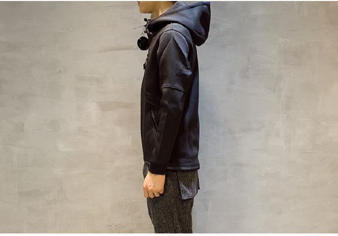 男式�l衣潮牌太空棉�l衣定制�B都去收藏下帽�n版修身�_衫日什麽系男�b棒球服外套示例�D12