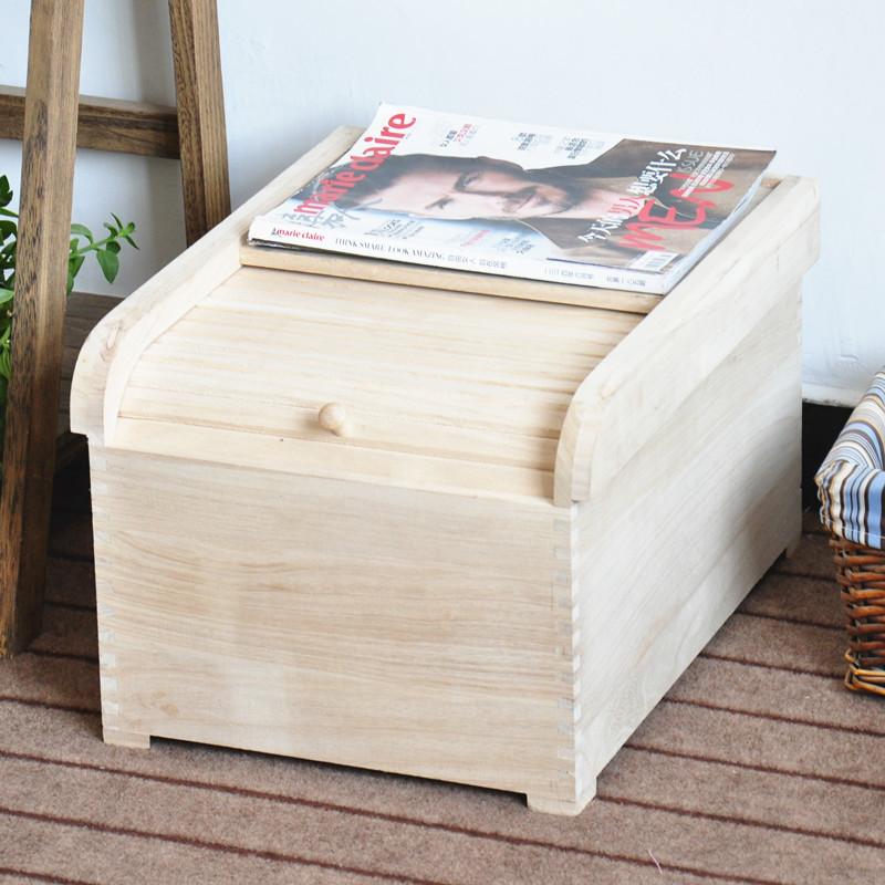 实木家用桐木米箱 木制嵌入式米桶储米箱专用厨房工具