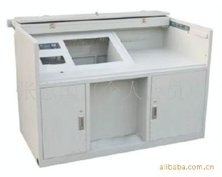 產地貨源集成系統 供應電子監控設備鐵質 監控操作臺多媒體電視墻