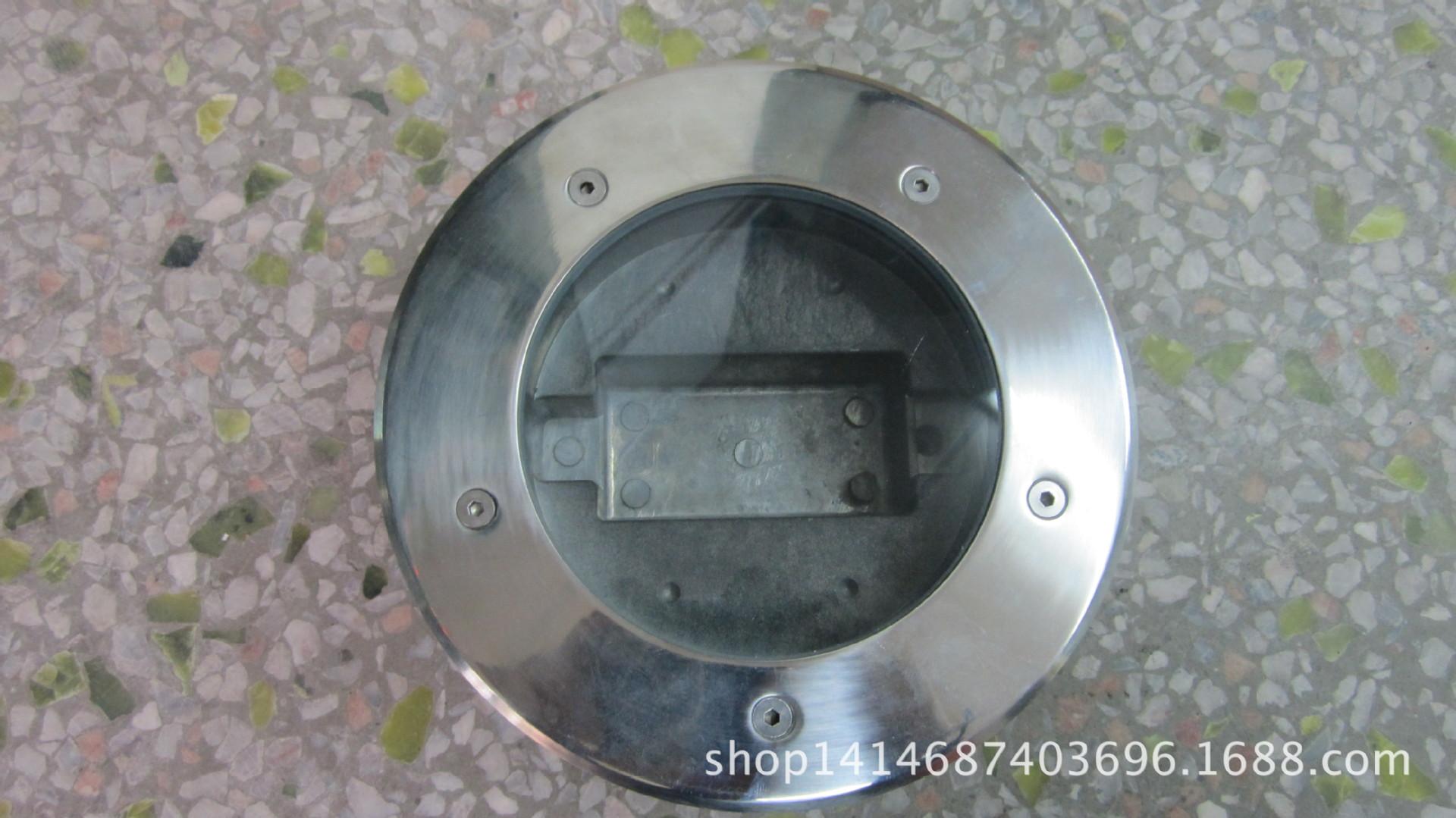 廠家直銷高品質LED9W12W地埋 水底燈外殼