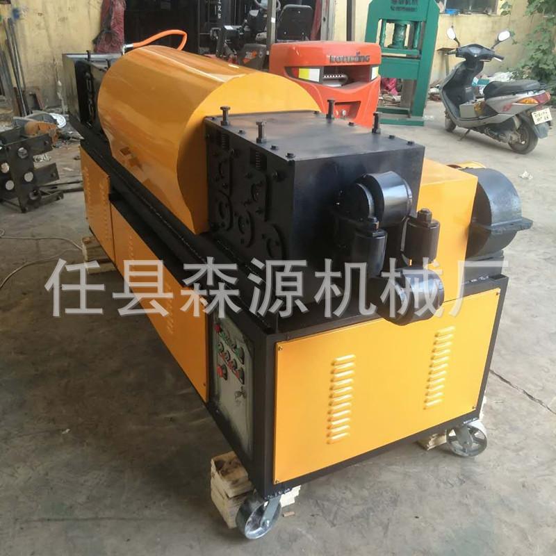 特惠钢筋和预应力机械钢管调直除锈喷漆一体机钢管调直示例图8