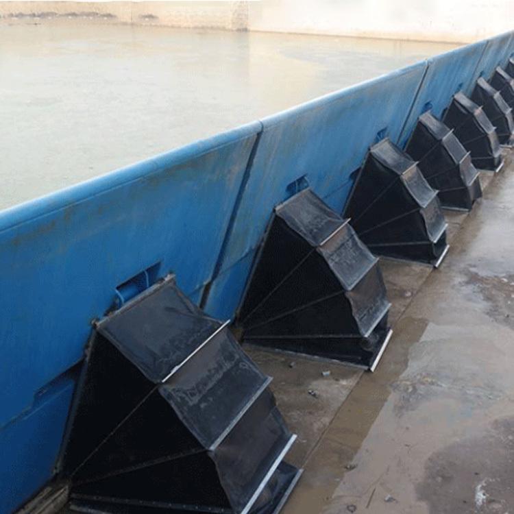 水利自控翻板闸门 液压合页坝 优质产品 景观钢坝 定制液压合页坝示例图4