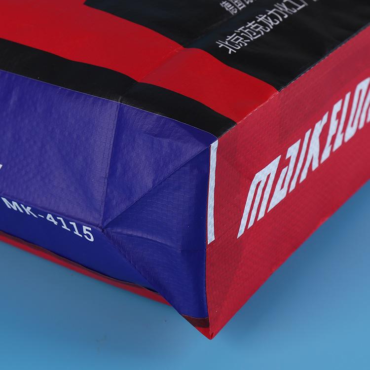 彩色pp聚丙烯建材管材集装阀口袋 红色瓷砖胶包装编织袋 印刷logo示例图9