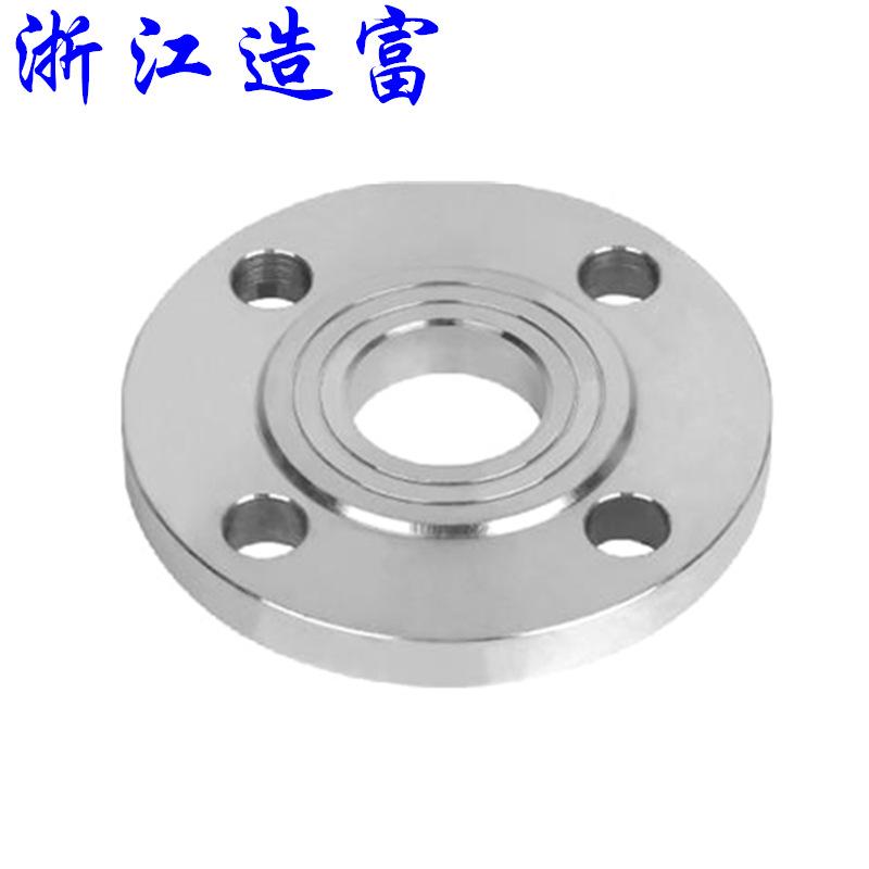 直销国标碳钢空调法兰 冲压法兰盘 板式平焊法兰片异型法兰加工示例图4