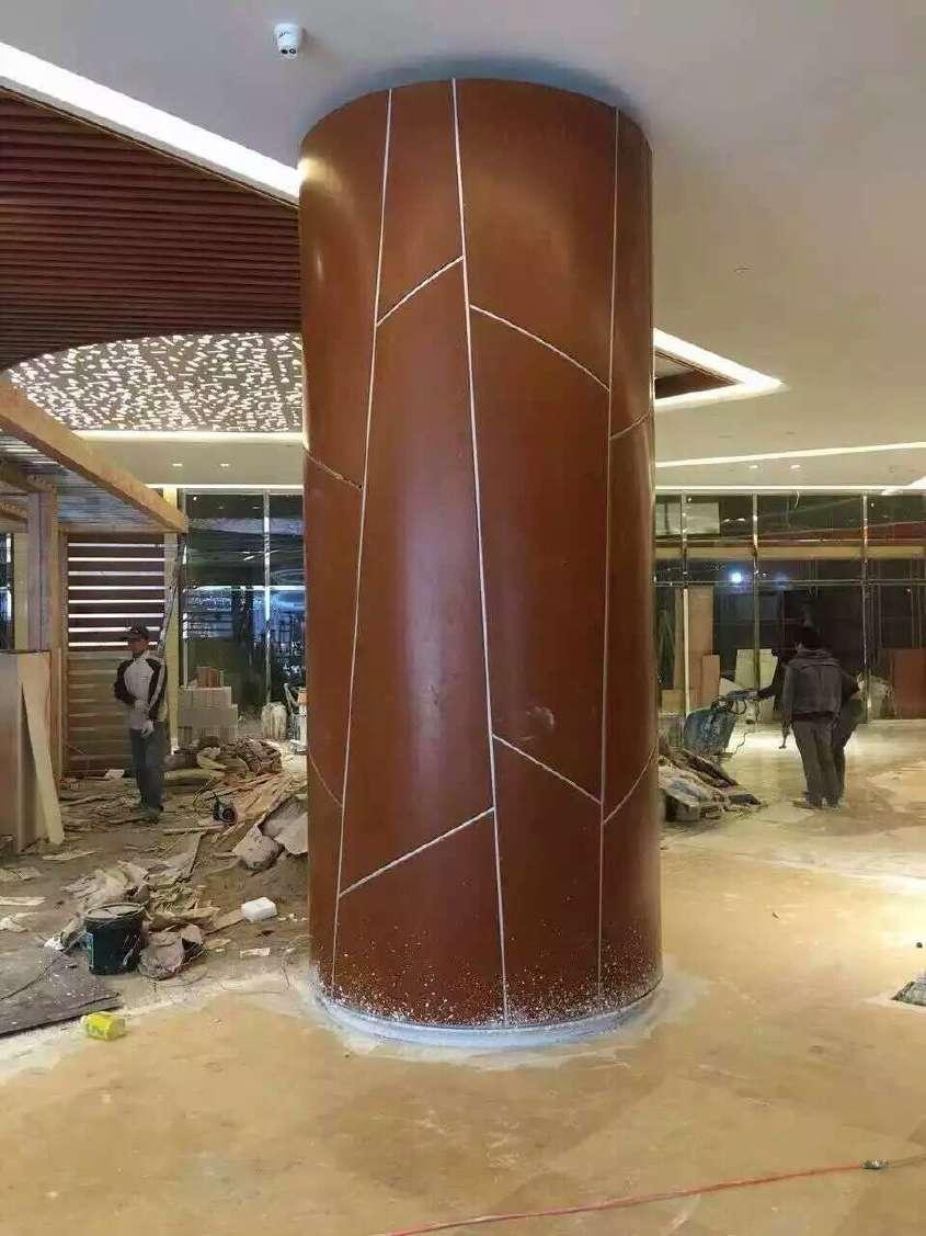 供应黑龙江雕花镂空铝单板 异型金属吊顶材料