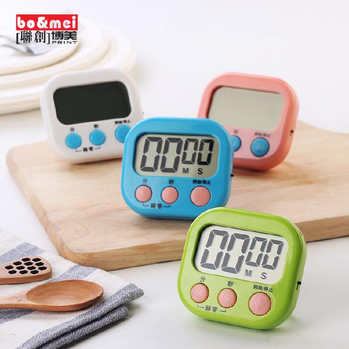 廚房定時器烹飪烘焙計時器學生鬧鐘倒計時記時器電子提醒器批發圖片