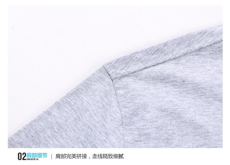 2017春夏男t恤 �r尚日系男�b力量之石�色翻�I��sT恤衫 精梳棉�]事修身款t恤示例�D20