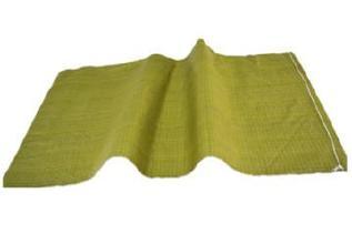 黄色编织袋厂特价80斤粮食袋普黄色蛇皮袋中厚结实塑料编织袋批发示例图5