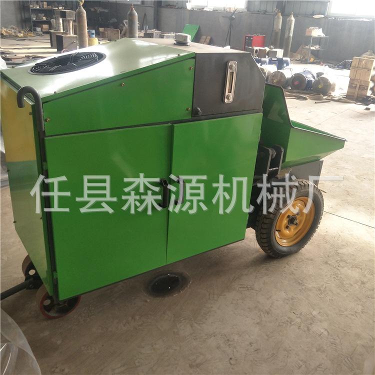 小型混凝土搅拌泵车 车载式混凝土输送泵砂浆输送上料机示例图9