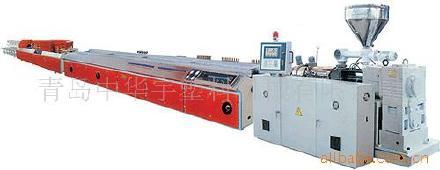 中华宇供应PVC塑料挤出异型材生产线 异型材设备