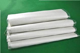 白色中厚覆膜防水��袋40*65�子粉包�b袋再生料人手防水打包袋批�l示例�D8
