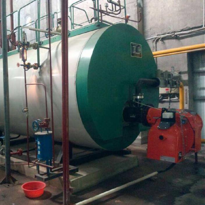 WNS1-6吨燃天然气蒸汽锅炉 卧式燃油气锅炉 一体冷凝锅
