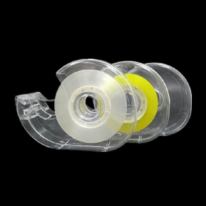 迷你蜗牛壳文具小胶带切割器 胶带机 塑料透明胶带座 厂家