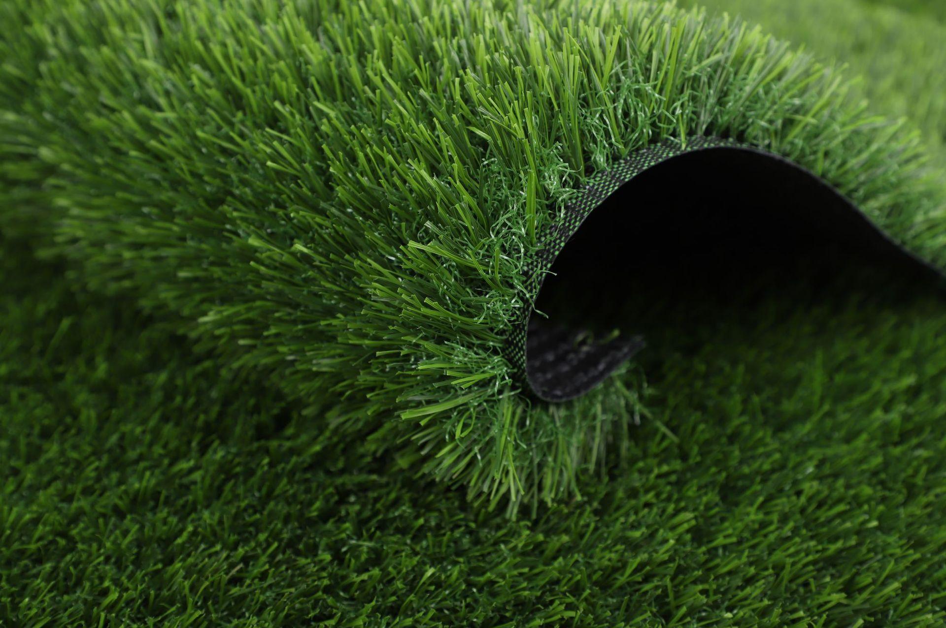 供應幼兒園專用加密仿真草坪 足球場草坪 樓頂綠化草坪示例圖6