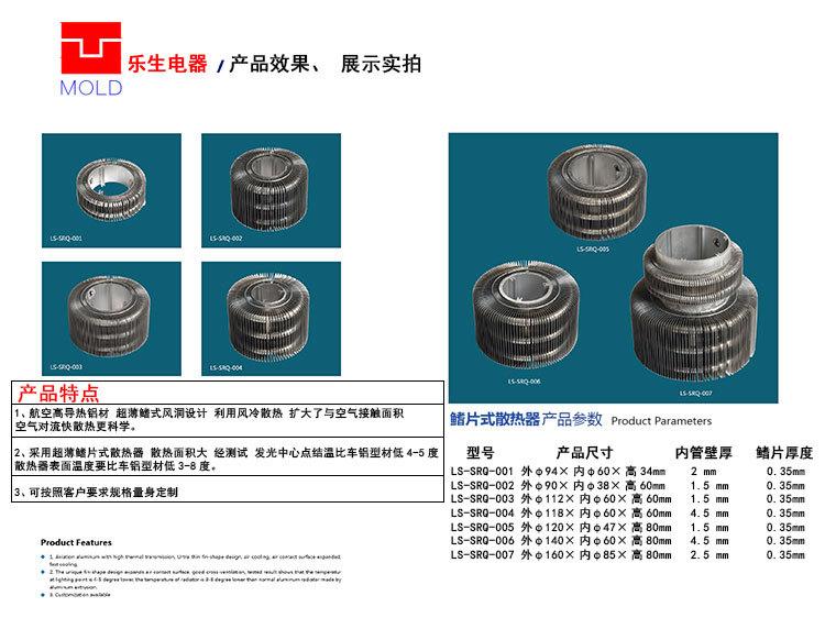 佛山鳍片式散热器直销厂家示例图1