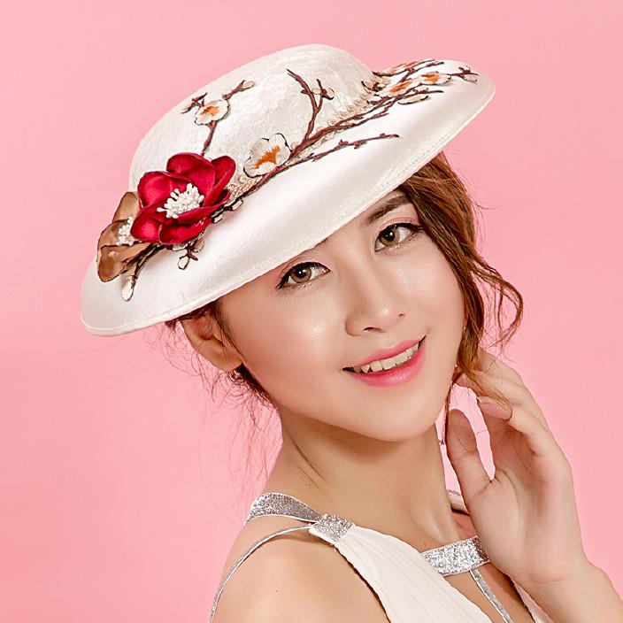 头发配饰白色头花婚纱新娘发夹手工衣服灰色结一种颜色的韩式头饰的羽毛好看图片