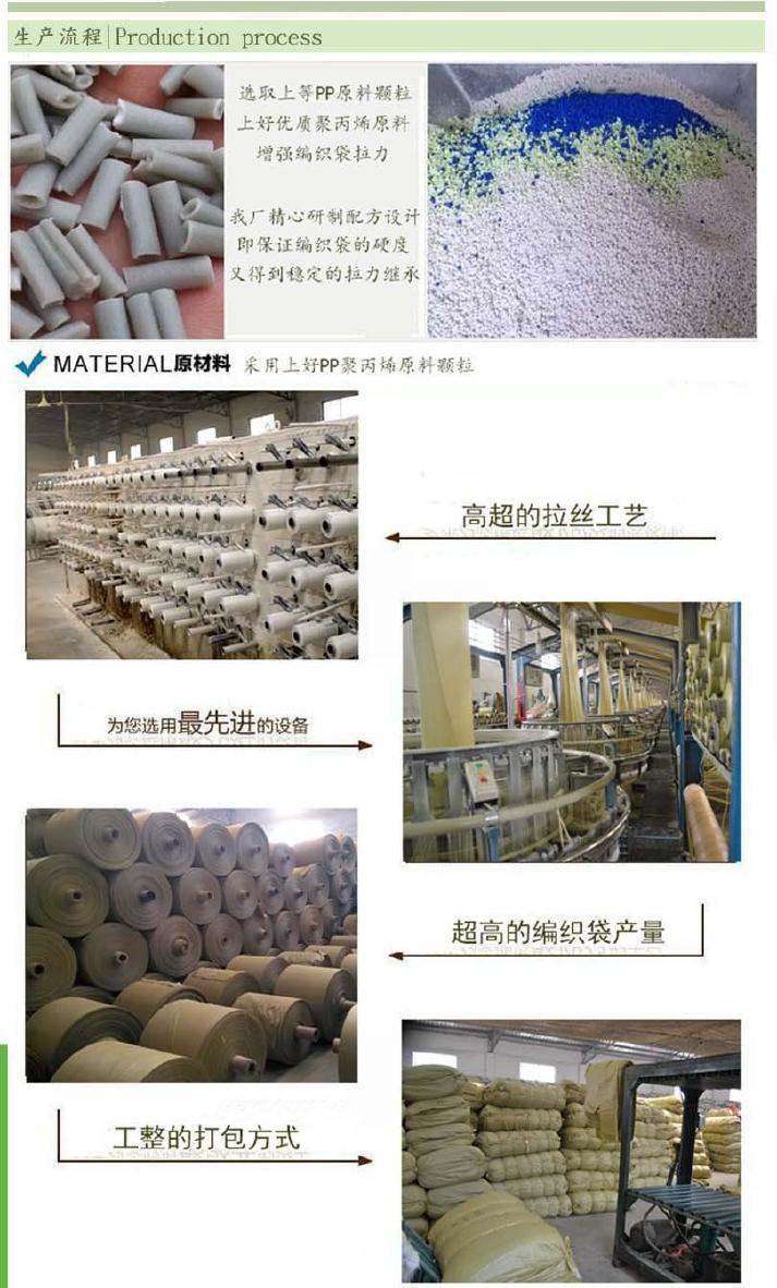 全新10斤大米袋批发/30*50优质透明大米粮食袋/小号编织袋示例图19
