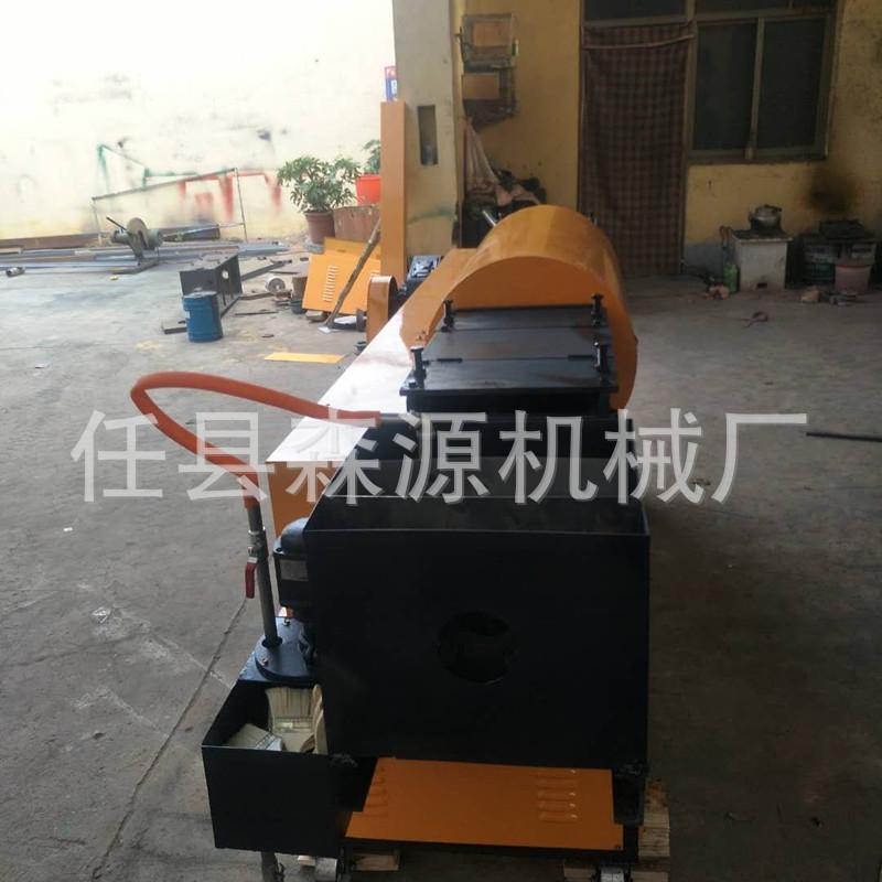 特惠钢筋和预应力机械钢管调直除锈喷漆一体机钢管调直示例图9