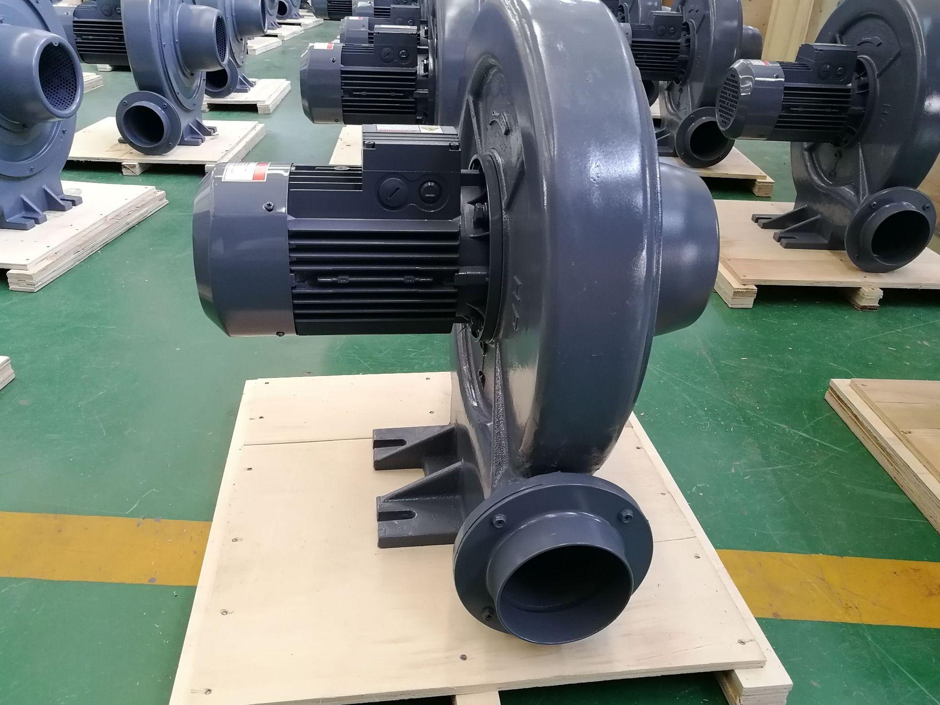 CX-100  1.5KW全风透浦式中压风机 气体输送送风中压鼓风机示例图16