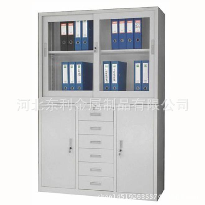钢制防磁柜 文件档案光盘防磁柜办公柜 推拉式防磁办公柜