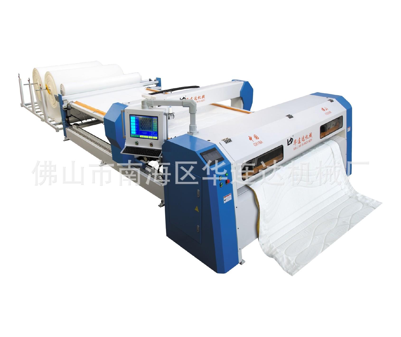 多功能觸屏電腦自動單針機 可用于絎縫獨立花型床墊等床上用品