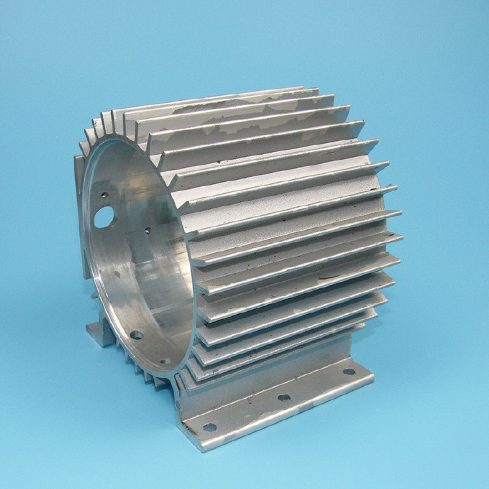 定制电机外壳   专业定做电机配件铝外壳 批发铝合金电机散热外壳图片