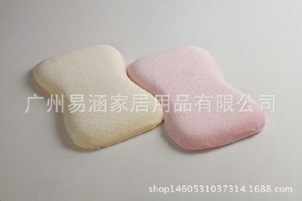婴儿枕bb保护枕头型枕0-3岁记忆枕定型宝宝陈冰整容短发图片