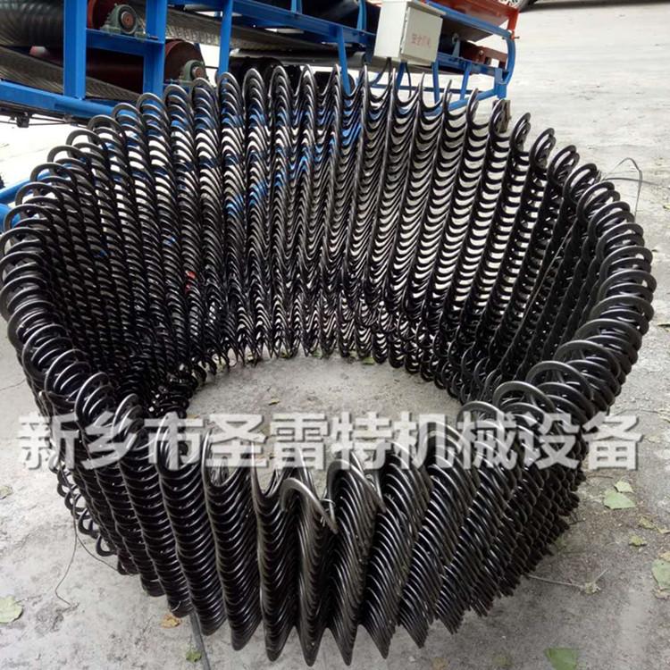 圣雷 應管徑100吸糧機彈簧葉片 75型螺旋葉片 車載抽糧機螺旋彈簧示例圖5
