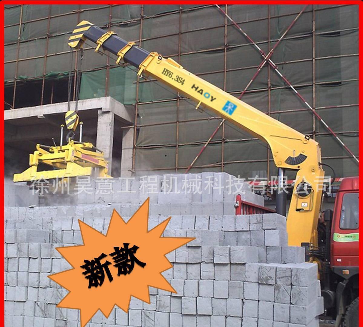 卸砖机 抱砖机械 砖厂建筑气泡砖 厂家直销