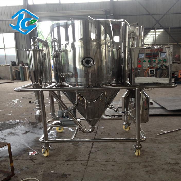 实验型喷雾干燥机 干燥塔 带气锤  照明  水冷泵图片