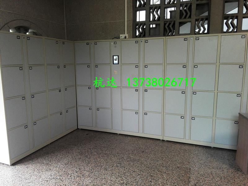公司刷卡联网电子更衣柜杭州第九中学校联网书包柜储物柜示例图10