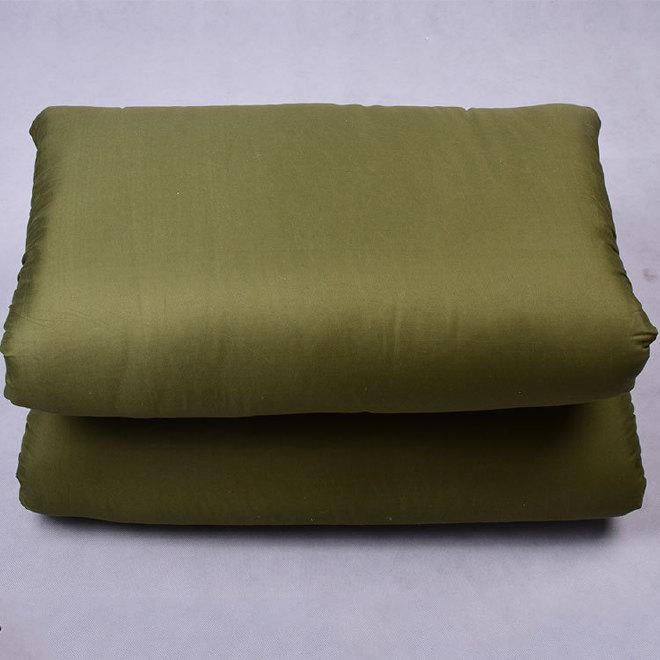厂家直销军绿色棉被批发热熔被军训被子学生棉被被褥可定做图片