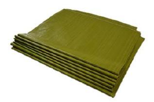 发上海编织袋批发普黄色65*110蛇皮袋打包袋子中厚装粮食包装袋示例图7
