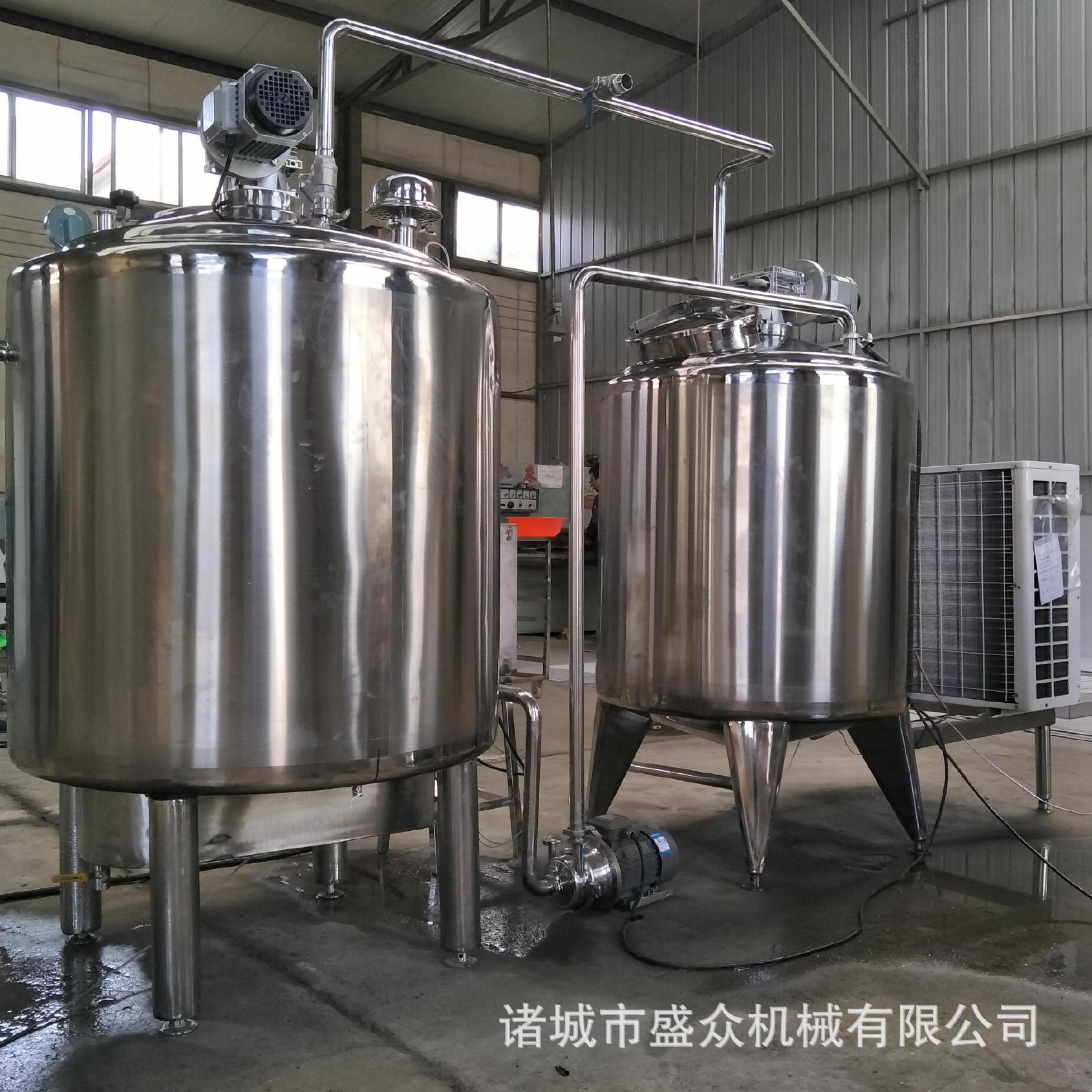 厂家直销新款304不锈钢牛奶发酵罐 酸奶吧��用设备爆款特价示例图10