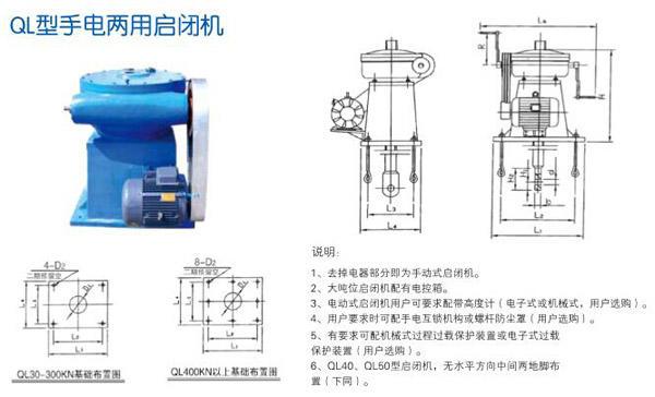 启闭机厂家 螺杆式启闭机厂家 侧摇式螺杆启闭机厂家示例图3