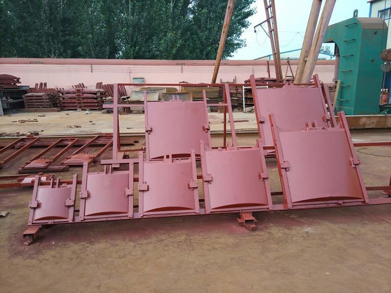 铸铁闸门 钢制闸门 渠道钢闸门示例图1