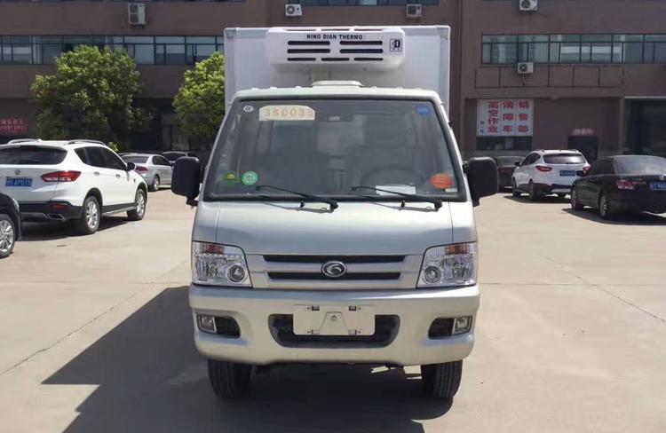小型冷藏车,厢式冷藏车, 福田驭菱冷藏车,程力厂家示例图2