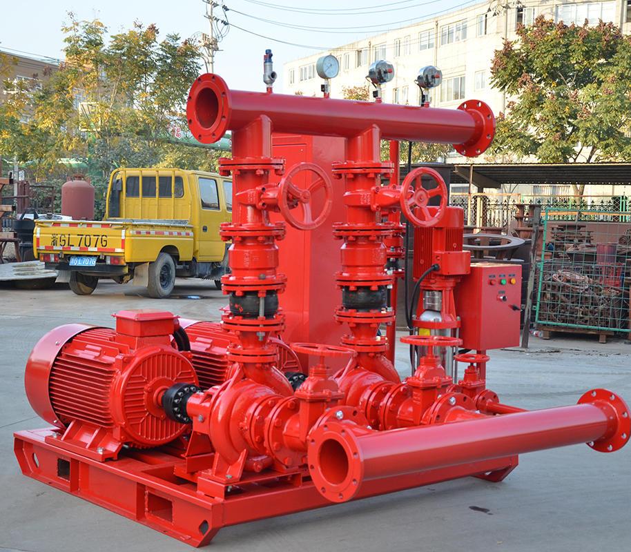 威尼斯平台登录SDL 10.0/15-2-GPM150  双动力消防泵,10kw大型双动力消防泵,消防泵示例图4