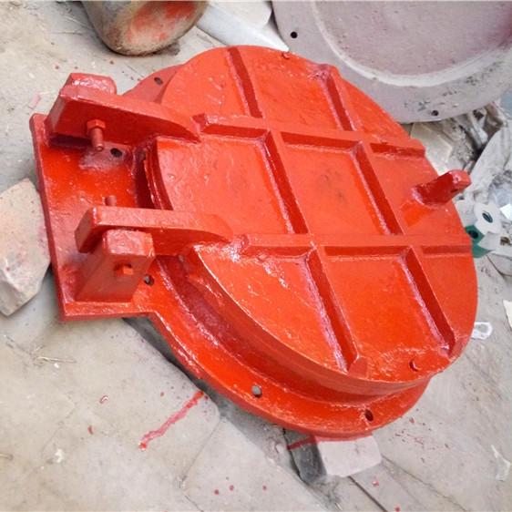 河南铸铁圆拍门 方形铸铁拍门 玻璃钢拍门 优质供应商示例图12