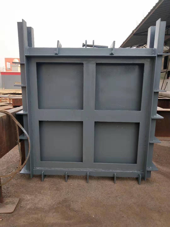 弘鑫水利 定制钢闸门 渠道钢闸门 平面型钢闸门示例图1