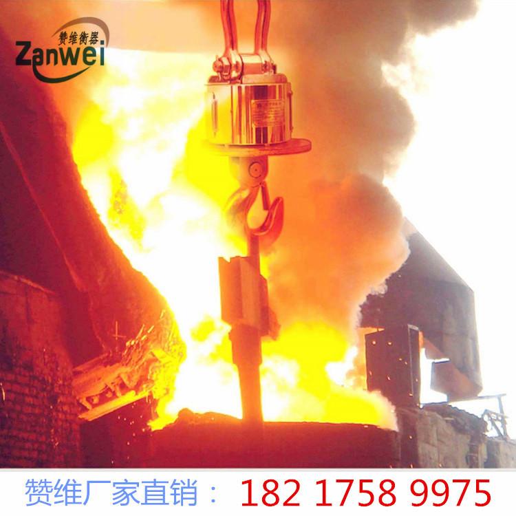 耐高温吊秤 浇铸冶金行业隔热电子吊钩秤 称铁水包吊磅示例图3