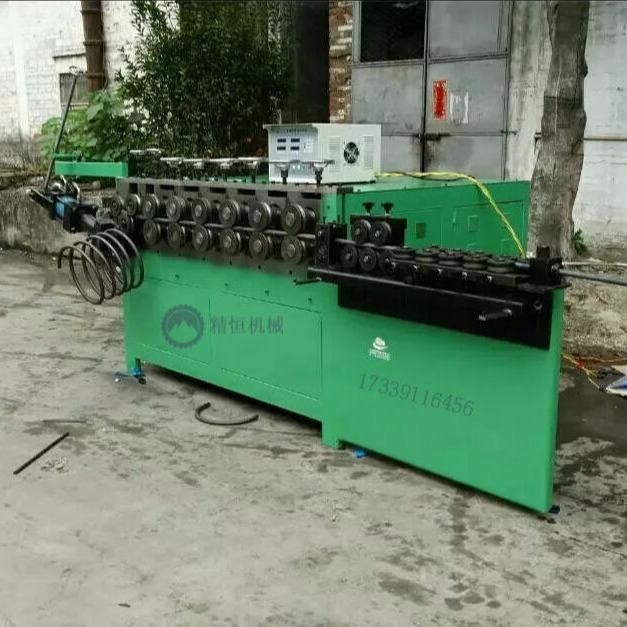 浙江高鐵螺旋筋成型機YGW-10   任意調節參數,多種參數儲存功能、數字顯示