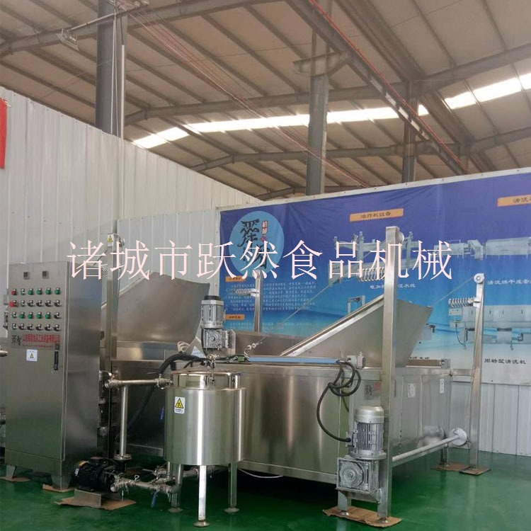供应全自动油炸机 连续式油炸机 全自动油豆腐油炸锅厂家直销